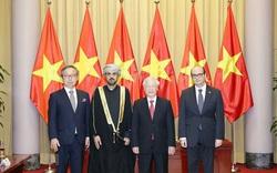 Các Đại sứ trình Quốc thư lên Tổng Bí thư, Chủ tịch nước Nguyễn Phú Trọng