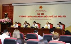 Không có phiên chất vấn và trả lời chất vấn tại Kỳ họp thứ 9 Quốc hội khóa XIV