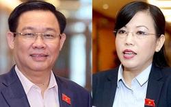 Tổng Thư ký Quốc hội thông tin về việc miễn nhiệm ông Vương Đình Huệ và bà Nguyễn Thanh Hải