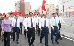 Thủ tướng dự Lễ thông xe kỹ thuật Dự án nút giao Nam Cầu Bính, Hải Phòng