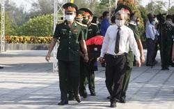 Thừa Thiên Huế: Đưa 15 liệt sỹ hy sinh tại nước bạn Lào về quê hương an nghỉ