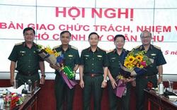 Bàn giao chức trách, nhiệm vụ Tham mưu trưởng; Phó Chính ủy Quân khu 7