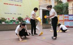 Các trường Tiểu học, Mầm non quận Hoàn Kiếm gấp rút chuẩn bi đón học sinh trở lại sau thời gian dài nghỉ dịch