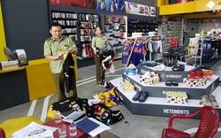 Kiểm tra 6 cơ sở kinh doanh, phát hiện hàng nghìn sản phẩm thời trang giả mạo nhãn hiệu nổi tiếng
