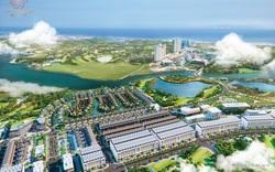 Đất Xanh Miền Trung tổ chức lễ cất nóc villa Anh Quốc dự án One World Regency