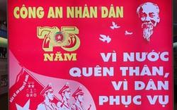 """Triển lãm """"75 năm Công an nhân dân - vì nước quên thân, vì dân phục vụ"""""""