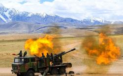 Giữa lúc căng thẳng với Ấn Độ leo thang, Trung Quốc tập trận bắn đạt thật tại Tây Tạng