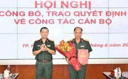 Đại tá Hoàng Đình Chung giữ chức Chủ nhiệm Chính trị Quân khu 7