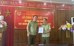 Ông Lê Quang Tú được bổ nhiệm làm Phó Cục trưởng Cục QLTT Bắc Giang