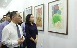 Bảo tàng Mỹ thuật Việt Nam giới thiệu 30 tranh cổ động trong giai đoạn từ 1958 đến 1986