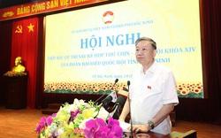 Bộ trưởng Tô Lâm tiếp xúc cử tri TP Bắc Ninh
