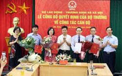 Bộ Lao động- Thương binh và Xã hội công bố quyết định bổ nhiệm cán bộ lãnh đạo