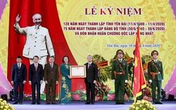 Yên Bái long trọng kỷ niệm 120 năm thành lập tỉnh, đón Huân chương Độc lập hạng Nhất