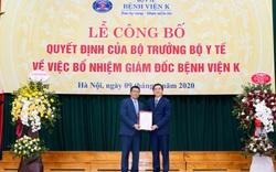 Người thay Thứ trưởng Trần Văn Thuấn làm Giám đốc Bệnh viện K là ai?