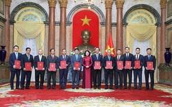 Phó Chủ tịch nước trao quyết định bổ nhiệm 12 đại sứ nhiệm kỳ 2020-2023