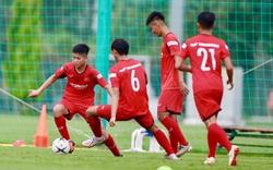 U22 Việt Nam tập nhẹ, chuẩn bị cho cuộc đấu nội bộ