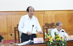 Bộ trưởng, Chủ nhiệm VPCP làm việc với Thừa Thiên Huế