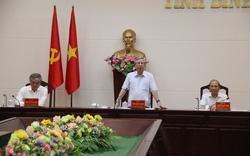 Thường trực Ban Bí thư Trần Quốc Vượng: Không đưa vào đại hội những người nói và làm không theo Nghị quyết của Đảng