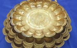 Lập hồ sơ đề nghị công nhận bảo vật quốc gia bộ sưu tập đĩa vàng thời Lý