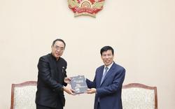 Bộ trưởng Nguyễn Ngọc Thiện tiếp và làm việc với Đại sứ Thái Lan tại Việt Nam