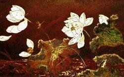 Vẻ đẹp thanh bình của thiên nhiên trong tranh sơn mài của Phạm Hậu