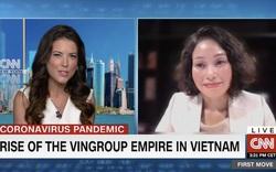 11 phút trực tiếp trong chương trình hàng đầu kinh tế trên CNN, Vingroup đã gây ấn tượng gì với thế giới?