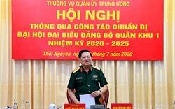 Đại tướng Ngô Xuân Lịch làm việc với Bộ Tư lệnh Quân khu 1