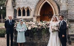 Công chúa nước Anh công bố ảnh kết hôn chính thức, vương miện và váy cưới gây chú ý hơn cả, nhắc khéo về cách cư xử của Meghan Markle