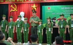 """Hà Nội: Khai giảng chương trình """"Học làm chiến sỹ Công an"""" khoá III năm 2020"""