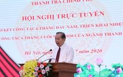 Phó Thủ tướng Trương Hòa Bình: Kiên quyết không để xảy ra tình trạng đoàn thanh tra bị tố cáo vòi vĩnh, tham nhũng