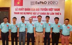 Việt Nam giành được 4 huy chương tại kì thi Olympic Vật lý châu Âu 2020