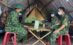 Bộ đội biên phòng tăng cường lực lượng kiểm soát người qua lại các cửa khẩu, đường mòn lối mở