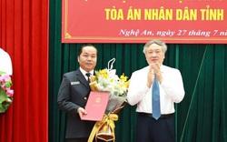 Trao quyết định nhân sự TAND tối cao, Viện KSND tối cao, Bộ Công an