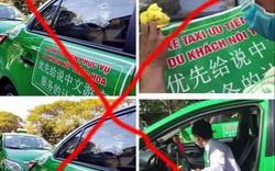 """Thông tin """"lập đội taxi phục vụ khách nói tiếng Hoa"""" thời điểm này là không đúng sự thật"""