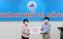 EVN và EVNCPC trao 1,5 tỷ đồng hỗ trợ công tác phòng chống dịch Covid-19 tại Đà Nẵng