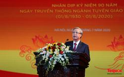 Thường trực Ban Bí thư Trần Quốc Vượng dự kỷ niệm 90 năm ngành Tuyên giáo