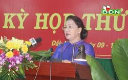 Chủ tịch Quốc hội: Tỉnh Đắk Nông cần chủ động phòng ngừa, ứng phó kịp thời với diễn biến của bệnh bạch hầu