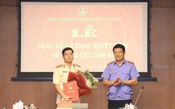 Trao quyết định nhân sự Viện KSND tối cao, Bộ Xây dựng, Ban Nội chính Trung ương