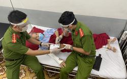 Công an Thừa Thiên Huế đến tận bệnh viện cấp chứng minh nhân dân cho cụ bà neo đơn