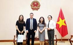 Cục trưởng Cục Hợp tác quốc tế tiếp Đại sứ Israel tại Việt Nam