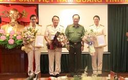 Trao quyết định chuẩn y nhân sự UBKT Đảng ủy Công an Trung ương