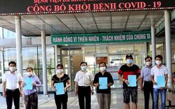 Thêm 11 bệnh nhân mắc Covid-19 điều trị tại Quảng Nam khỏi bệnh và xuất viện