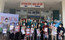 10 bệnh nhân Covid-19 điều trị ở Đà Nẵng khỏi bệnh và xuất viện vào chiều 24/8
