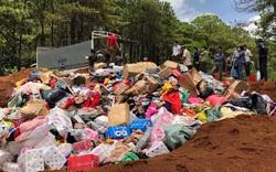 Tiêu hủy hơn 10 tấn hàng hóa không đủ điều kiện lưu thông trên thị trường