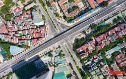 Cận cảnh cầu vượt 560 tỉ đồng nút giao Hoàng Quốc Việt – Nguyễn Văn Huyên sắp thông xe