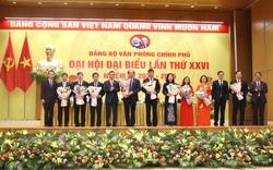 Đảng bộ Văn phòng Chính phủ tổ chức thành công Đại hội Đảng bộ nhiệm kỳ 2020-2025