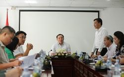 Thứ trưởng Nguyễn Văn Hùng làm việc với Cục Bản quyền tác giả