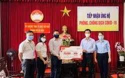 Trao tặng 20.000 khẩu trang y tế và 300 chai nước sát khuẩn giúp bệnh viện tuyến đầu chống dịch Covid-19