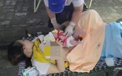 Một sản phụ bất ngờ chuyển dạ, sinh con ngay tại chốt kiểm soát y tế