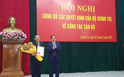 Trao quyết định bổ nhiệm nhân sự tại Quảng Trị